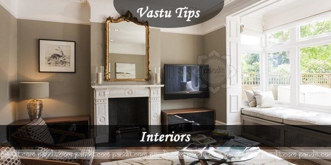 Vastu Arrangement for Interiors