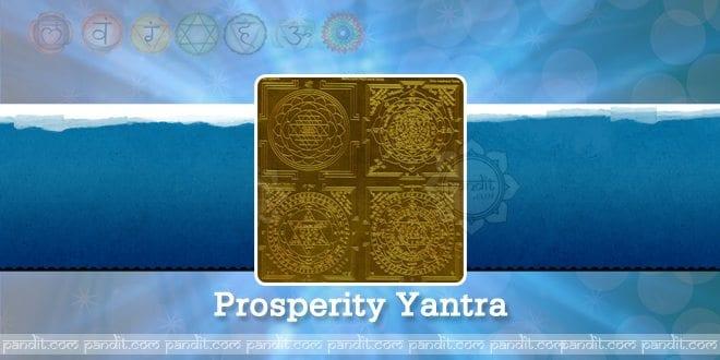 Prosperity Yantra