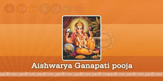 Aishwarya Ganapati pooja