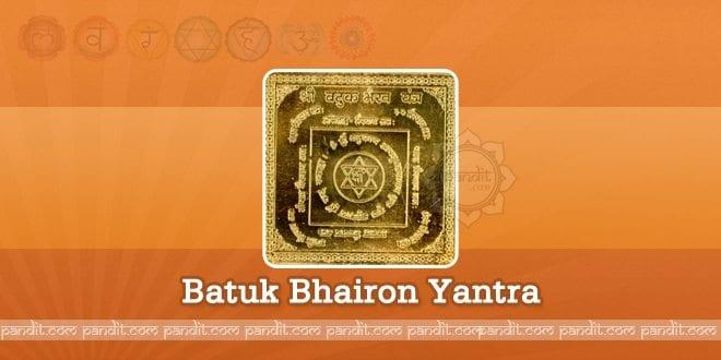 Batuk Bhairon Yantra