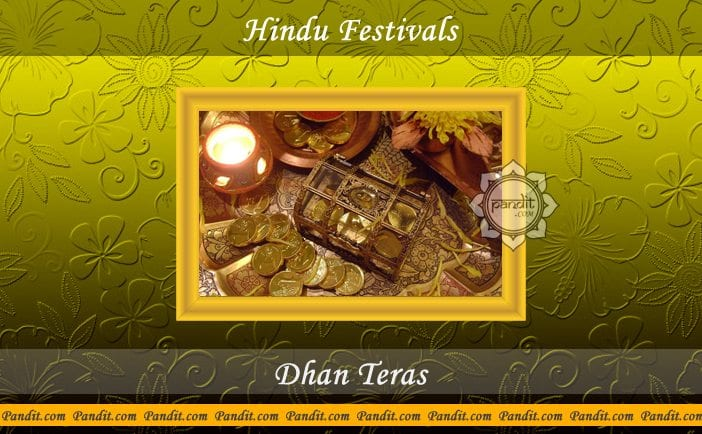 Look here the easy ways to celebrate Dhanteras