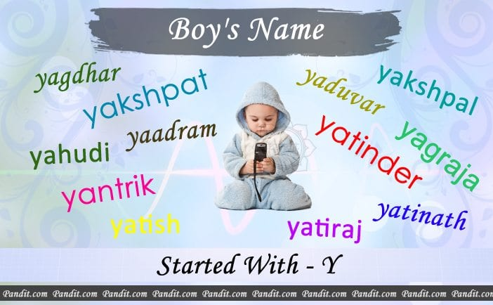 36+ Baby boy names on letter y information