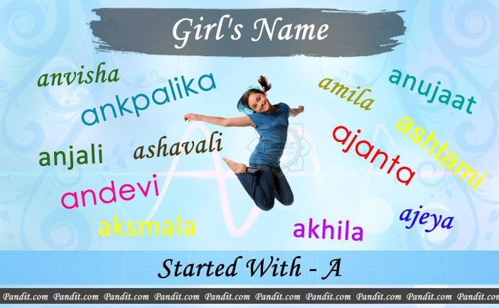 Girl's name starting with a