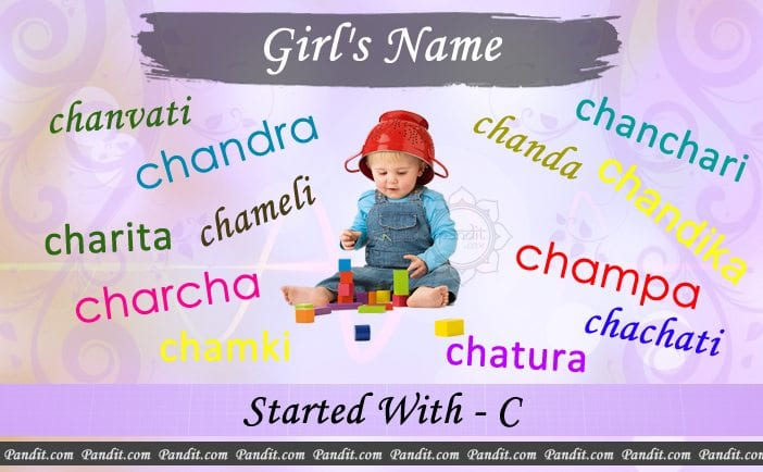 Girl's name starting with c