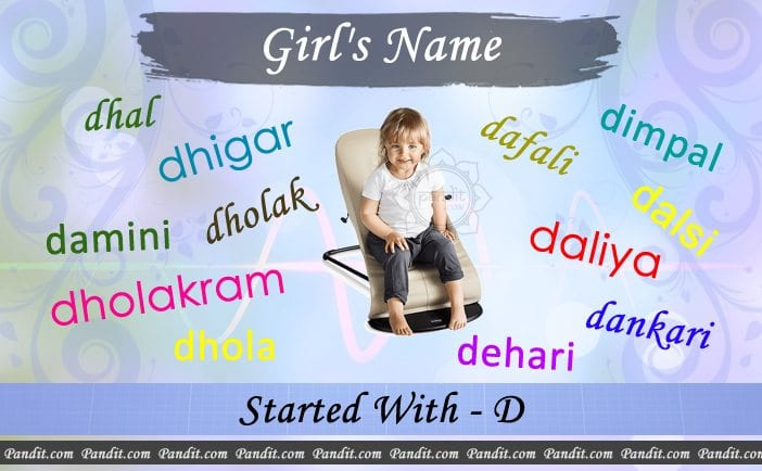 Girl's name starting with d