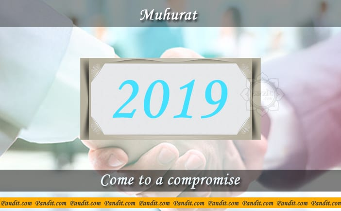 Shubh Muhurat To Come To A Compromise 2019