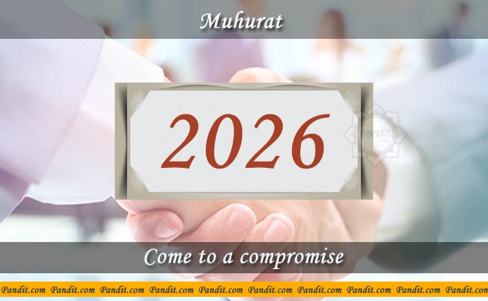 Shubh Muhurat To Come To A Compromise 2026