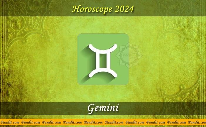 Gemini Yearly Horoscope For 2024