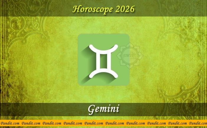 Gemini Yearly Horoscope For 2026