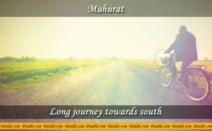 Long Journey Towards South