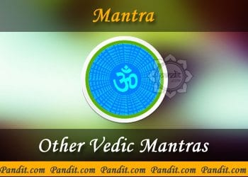 Other Vedic Mantras