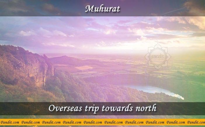 Overseas Trip Towards North